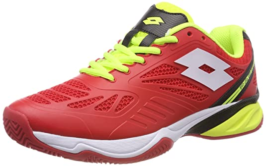Amazon.com | Lotto Superrapida 200 Mens Flame/White 11.0 | Tennis & Racquet Sports