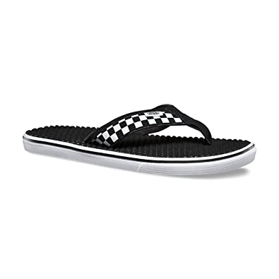 a609c80f496f Vans LA Costa LITE Checkerboard Black White Mens Sandals-Men 13.0 ...