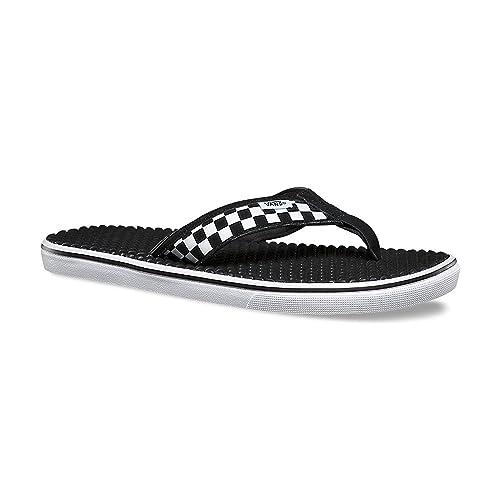 eac819716252 Vans LA Costa LITE Checkerboard Black White Mens Sandals-Men 13.0 ...