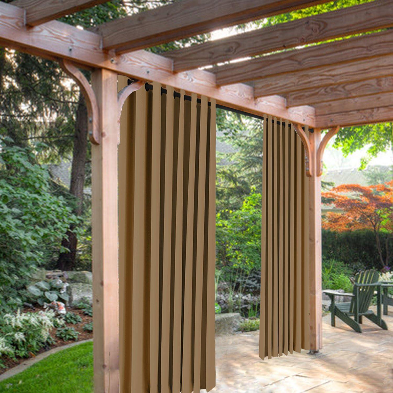 Balancín de Home moho resistente al térmica aislante para cortinas/para Patio o porche en la parte delantera con ojales arandela, 52 W por 84L pulgada, 1 panel: Amazon.es: Hogar