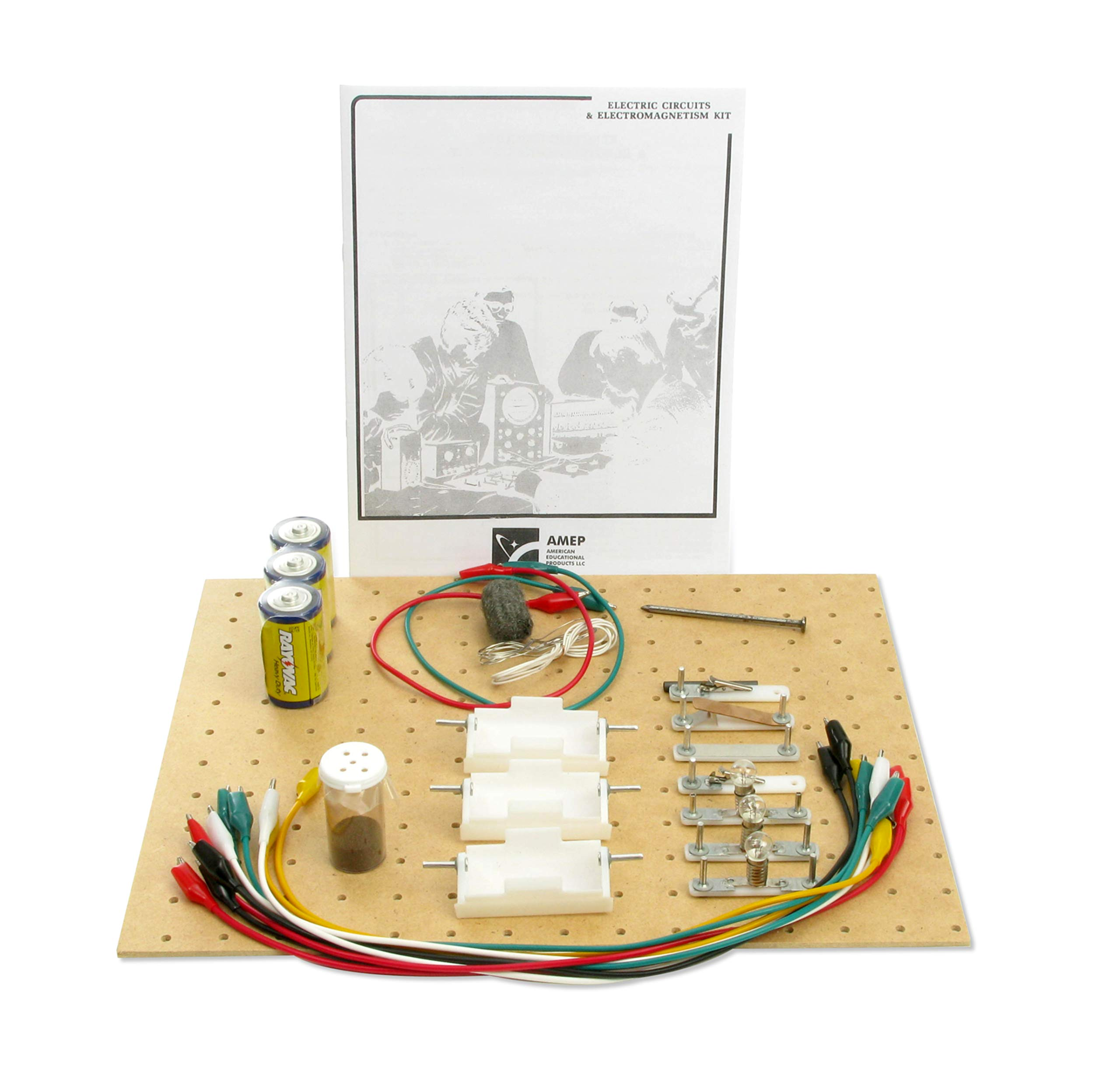 American Educational Circuits and Electromagnetism Kit
