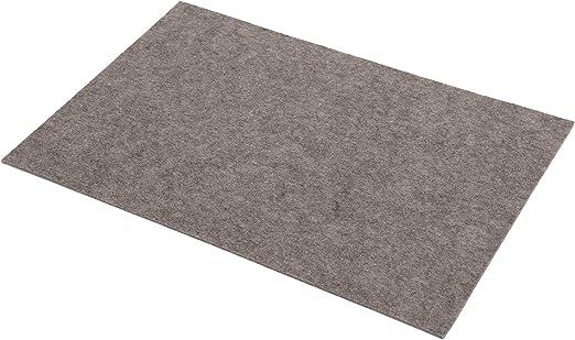 Yve decoration Platzsets aus Filz (Farbe wählbar) 2 Stück Set, eckig 30x45 cm Tischset (Sandstein)