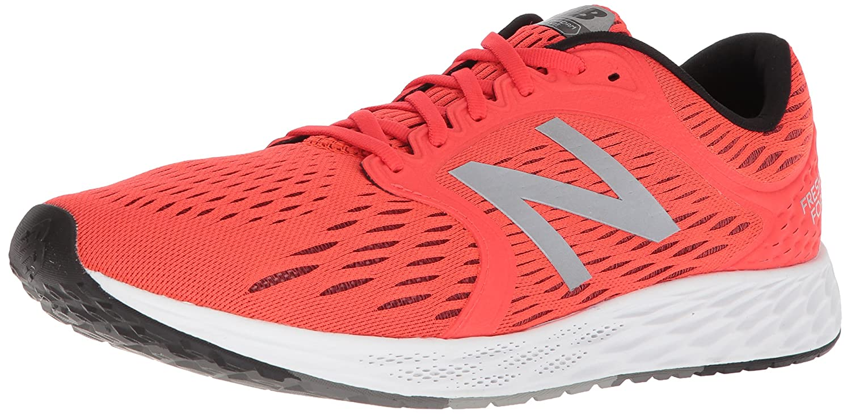 New Balance Men's Zante v4 Fresh Foam Running Shoe B07525H8GP 7.5 2E US Orange/Black