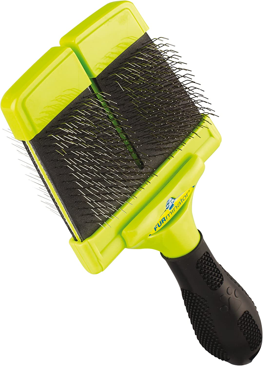 FURminator Slicker Brush with Hard Bristles for Dogs Large