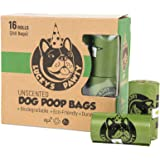 Lucky's Pawty - 240 Biodegradable Poop Bags / Dog Waste Bags, 16 Rolls, Unscented, Eco-Friendly, Premium Thickness & Leak Proof, Easy Detach & Open