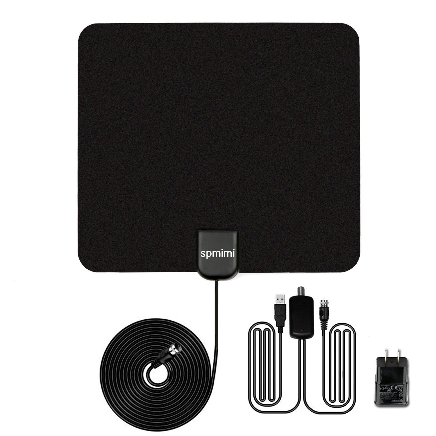 Indoor TV Antenna 50 Mile Range with Detachable Amplifier HDTV Indoor Antenna for High Reception antenna for TV Digital Tv Antenna