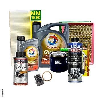 6L total 5 W de 40 + Filtro + Juego de accesorios para Chrysler PT Cruiser PT 2.0: Amazon.es: Coche y moto