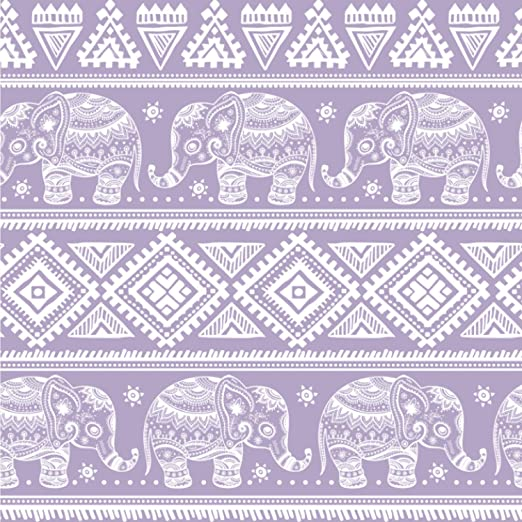 Amazon Com Youcustomizeit Baby Elephant Wallpaper Surface Covering Peel Stick 24 X 24 Sample Furniture Decor