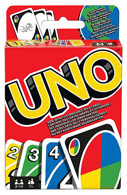 Mattel Games UNO W2087 Card Game - European Version