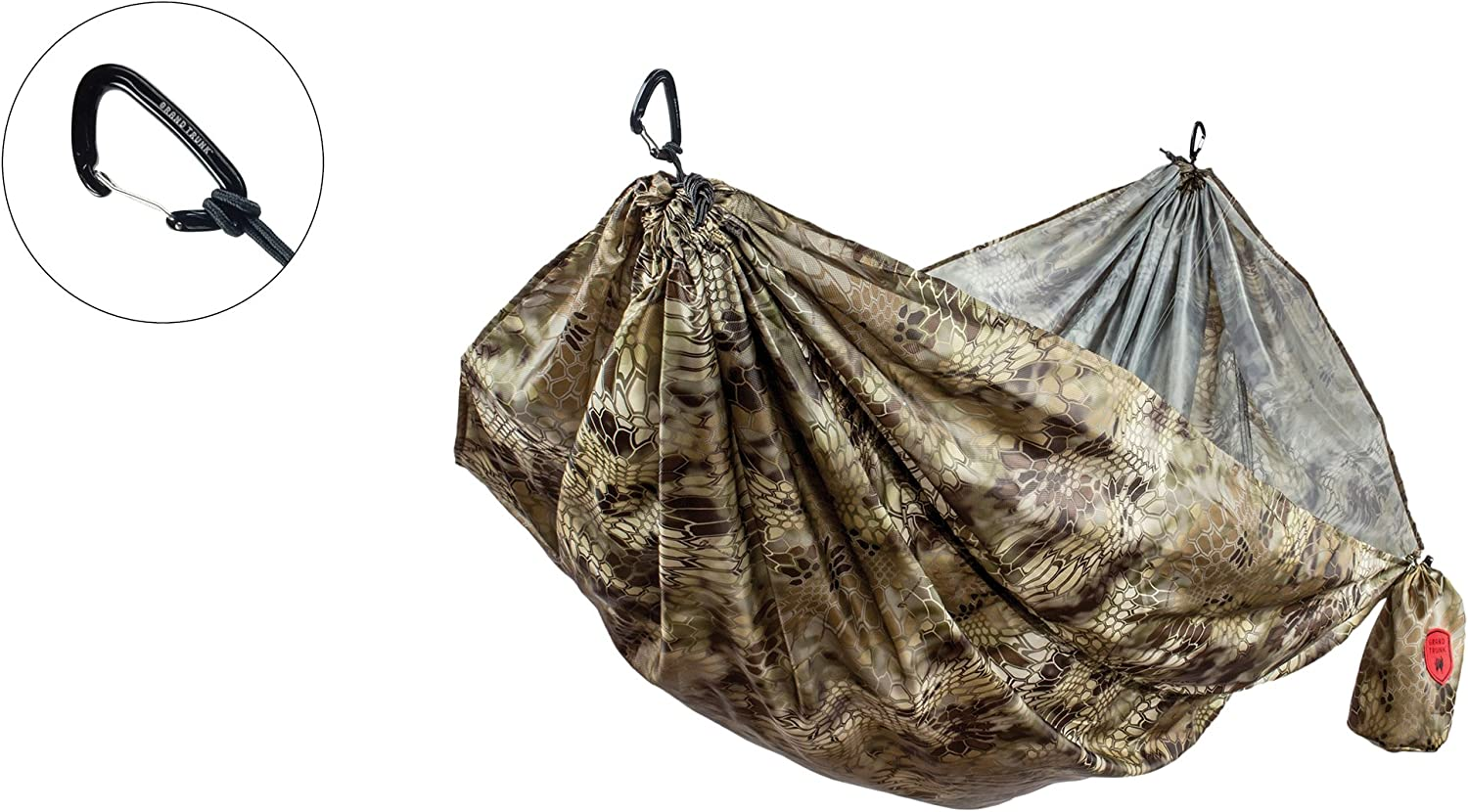 Grand Trunk Kryptek Camouflage Double Hammock