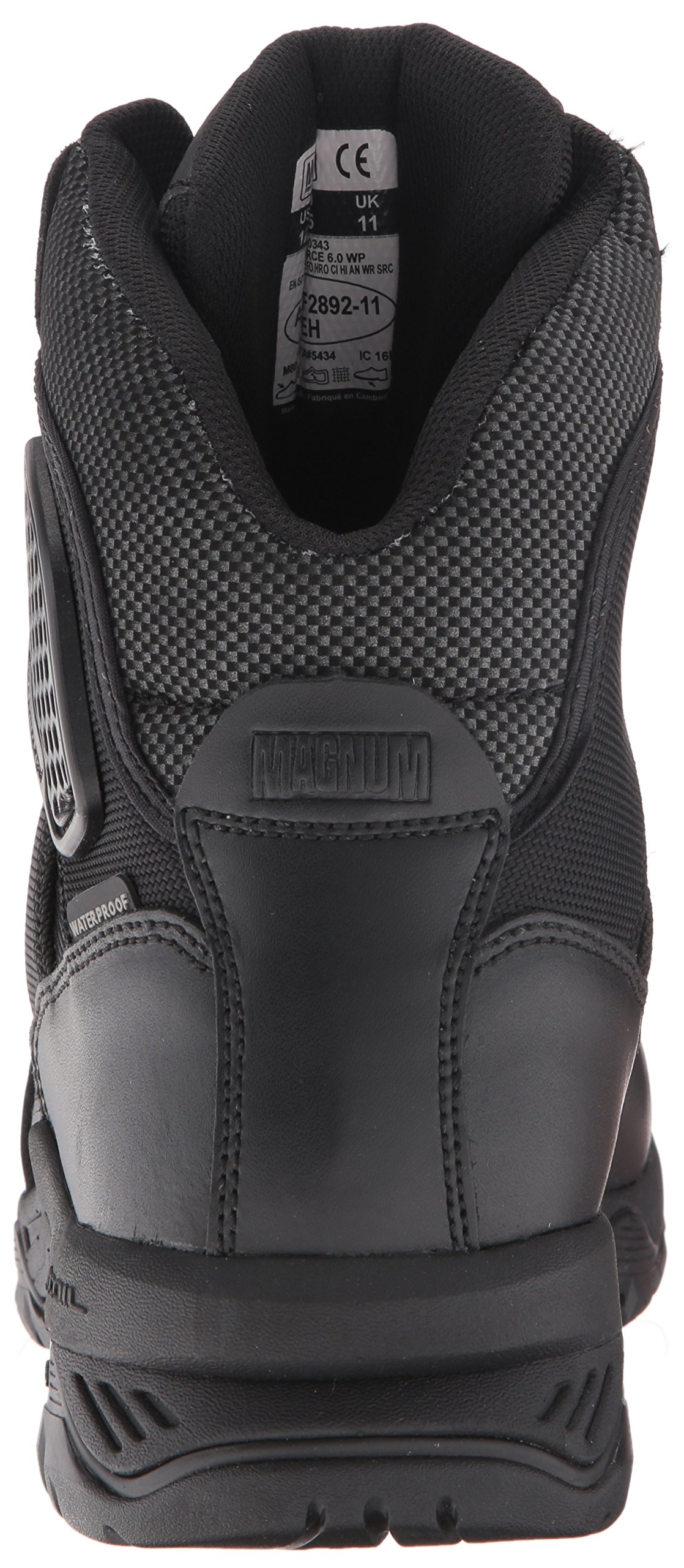 Magnum Men's Strike Force 6'' Waterproof Military & Tactical Boot, Black 14 W US by Magnum (Image #2)