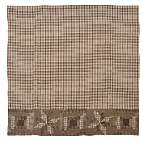 Amazon.com: VHC Brands Bradley Shower Curtain 72x72: Home & Kitchen