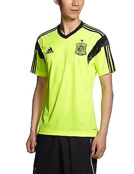 adidas Camiseta Entrenamiento España 2014 Electricity-Negra Talla M: Amazon.es: Deportes y aire libre