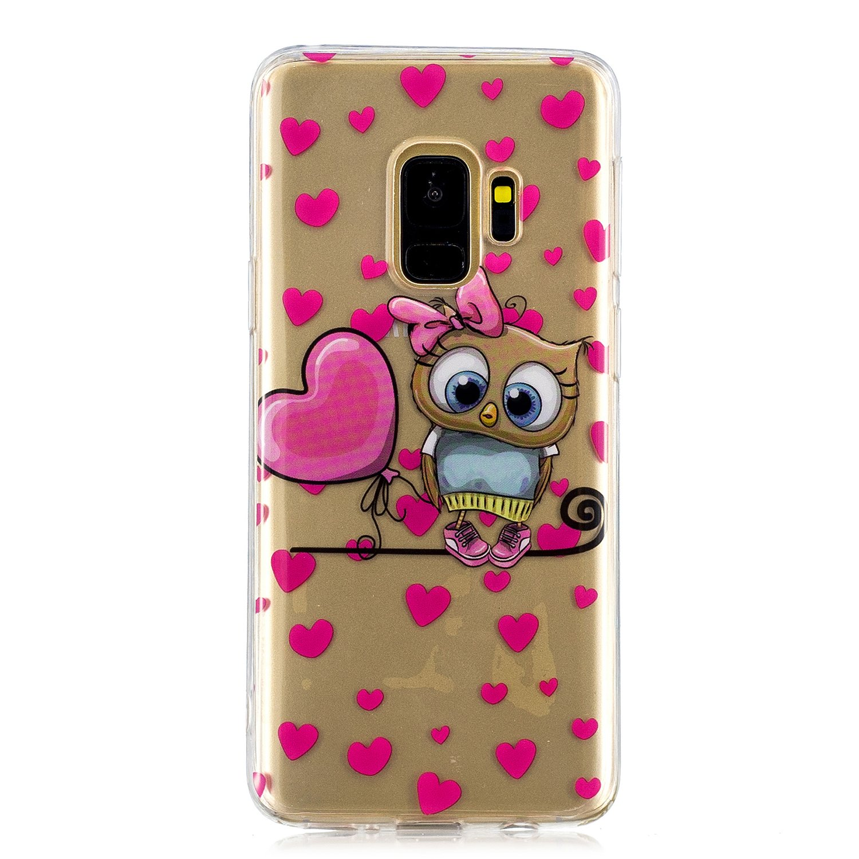 Everainy Kompatibel f/ür Samsung Galaxy S9 H/ülle Silikon Transparent Bumper Durchsichtig mit Muster Cover H/üllen Sto/ßfest TPU Gel Sto/ßstange Schutzh/ülle Sonnenblume