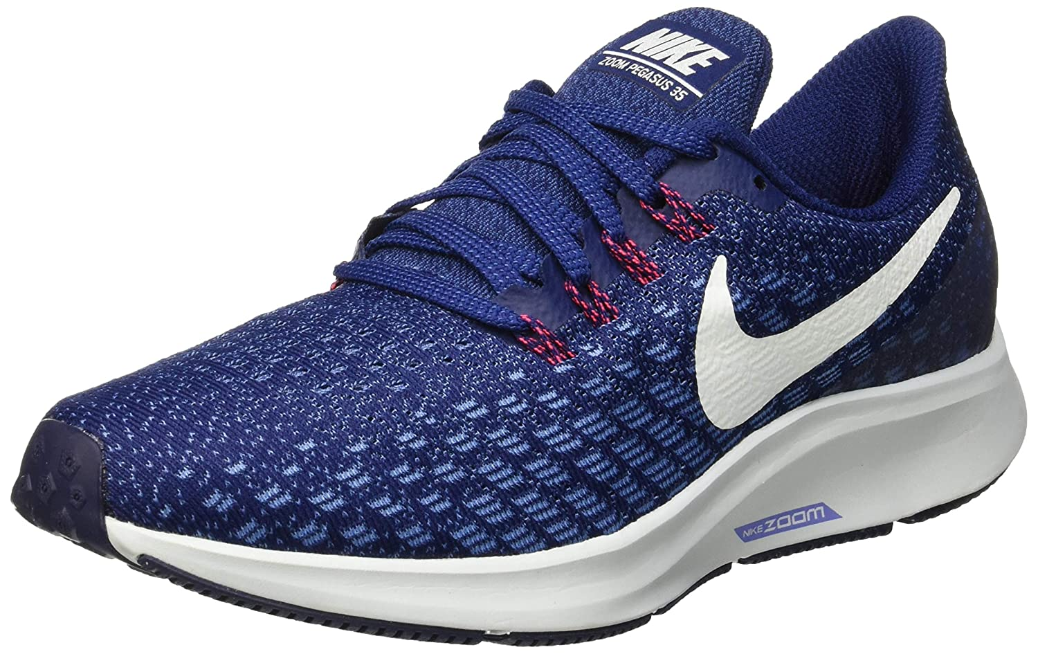 bluee Void Ghost Aqua Indigo Storm Nike Women's Air Zoom Pegasus 35 Running shoes
