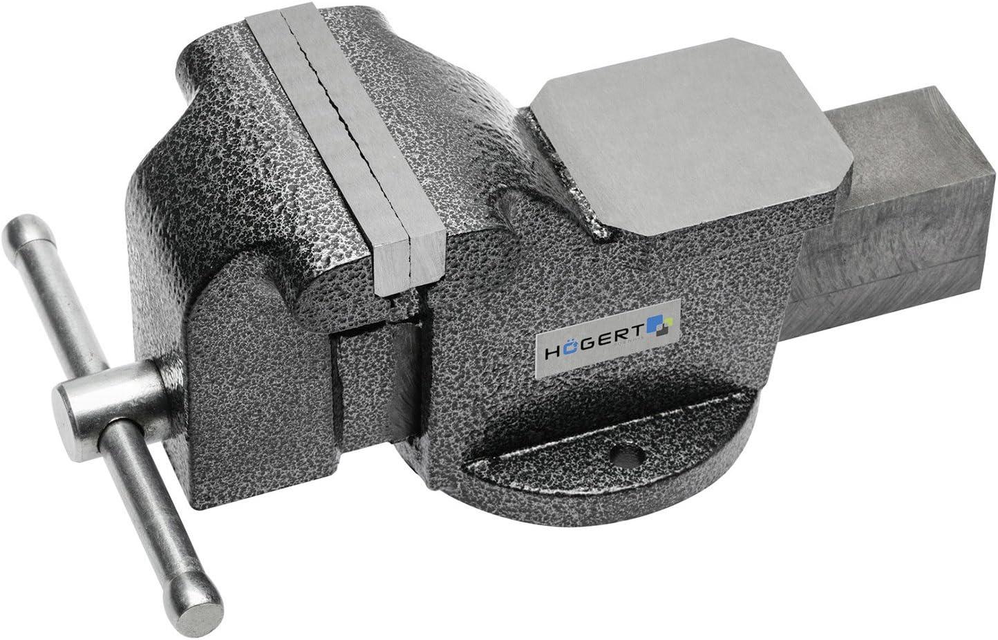 Schraubstock drehbar 150 mm Amboss drehbar Tisch-Schraubstock von SECOTEC/®