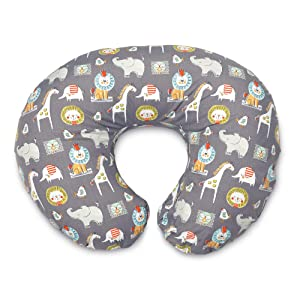 Boppy Original Nursing Pillow and Positioner, Sketch Slate Gray, Cotton Blend Fabric with allover fashion