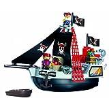 Ecoiffier Abrick Pirate Ship Playset