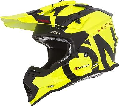 O Neal Motocross Helm Mx Enduro Abs Schale Sicherheitsnorm Ece 22 05 Lüftungsöffnungen Für Optimale Belüftung Kühlung 2srs Helmet Slick Erwachsene Oneal Sport Freizeit