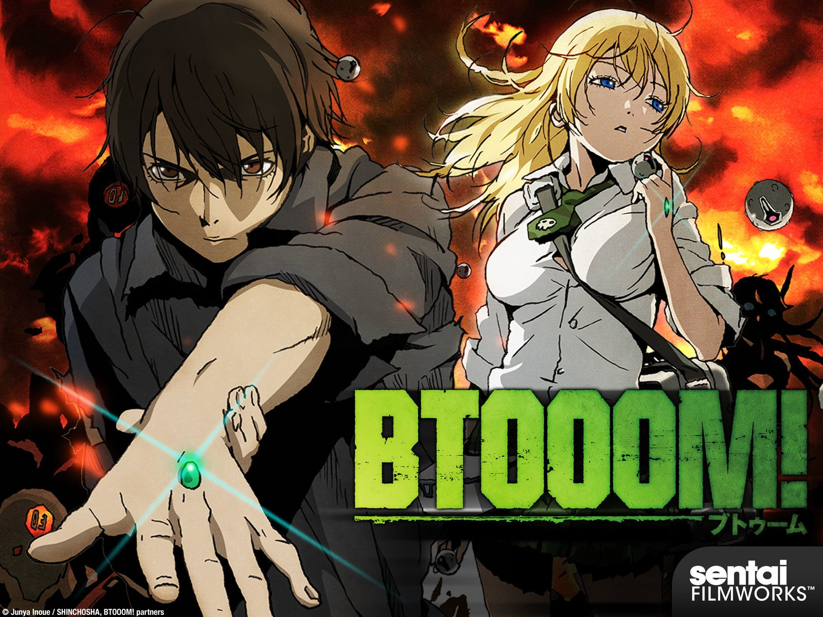 Download Btooom! Episode 1 – 12 (Complete) English Subbed
