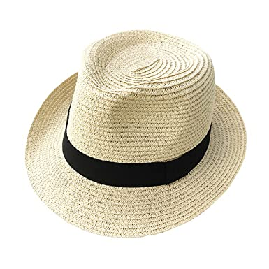 8d8c7900b32cc Sawick Hat for Male SummerFolding Western Cowboy Protection Sun Hat at Amazon  Women s Clothing store