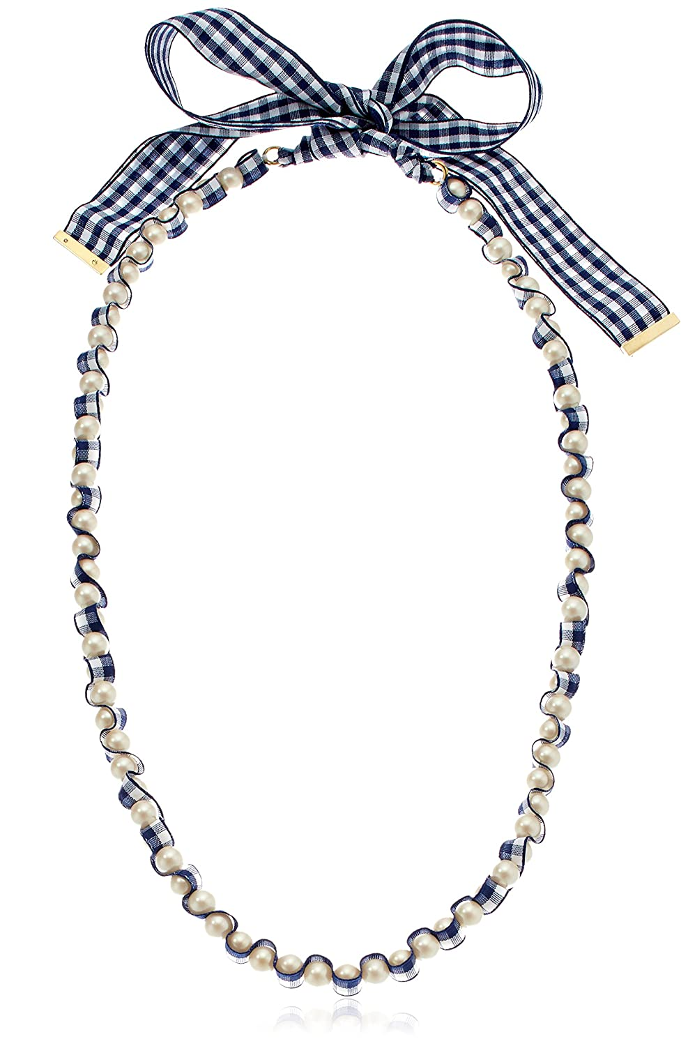3baf4bc0a7e94 Amazon.com: Kate Spade New York Women's Pretty Pearly Long Necklace ...