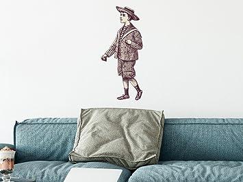 Walltattoo Designer | Wandaufkleber Premium Wandtattoo Dekorativer Wandsticker