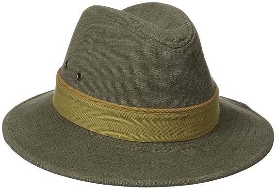 4d1e9274e76af Stetson Men s Oxford Safari Hat  Amazon.in  Clothing   Accessories