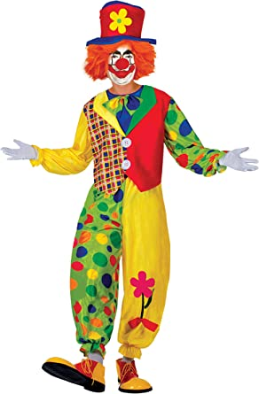 Ciao Clown pagliaccio Costume Adulto Disfraces, Multicolor, M para ...
