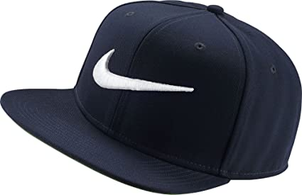 Nike U NK Pro Cap Swoosh Classic Gorra de Tenis, Unisex Adulto, Azul (Obsidian/Pine Green/Black/White), Única