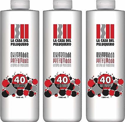 Pack Ahorro 3 Unidades Oxigenada 40 vol - 1000 ml x3 - Aroma ...