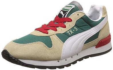 07d02a16a3ea Puma Unisex Tx-3 Idp Multi-Colour Leather Fashion Sandals - 4 Kids ...