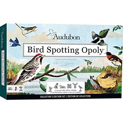 MasterPieces Audubon Bird Spotting Opoly Game: Toys & Games