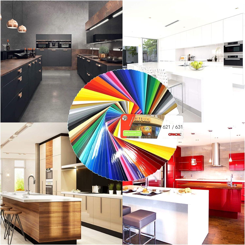 9,47€/m²) Plotter Film mate 631 Hoja de Muebles de Cocina Lámina Adhesiva para Artesanías Diy 31cm Ancho: Amazon.es: Juguetes y juegos