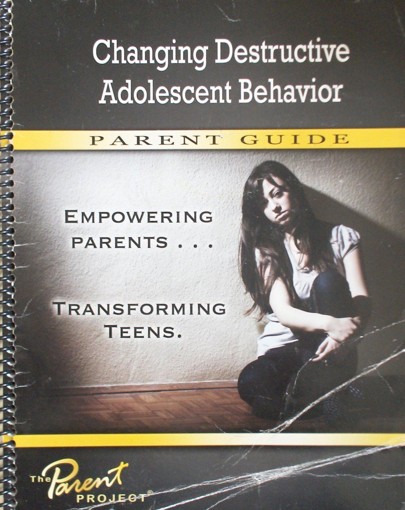 changing destructive adolescent behavior book