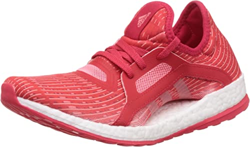 adidas chaussure femme rouge