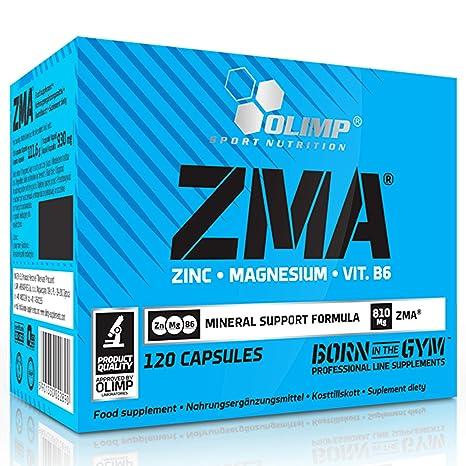 Olimp Sport Nutrition ZMA Vitaminas y Minerales - 120 Cápsulas