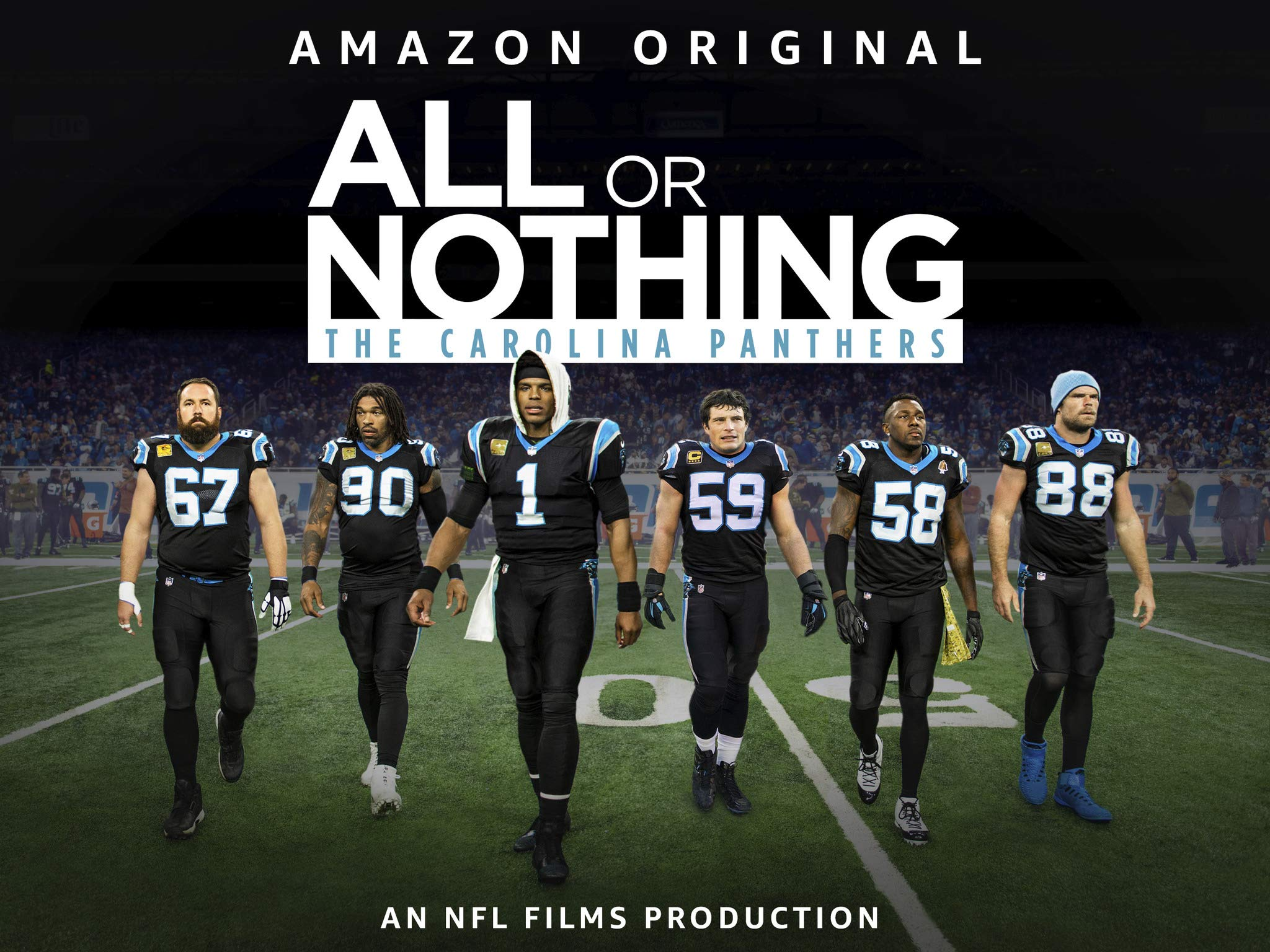 70ce27d8 Amazon.com: All Or Nothing: Carolina Panthers - Season 4: Cam Newton ...