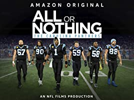 factory authentic 6c130 01044 Amazon.com: Watch All Or Nothing: Carolina Panthers - Season ...