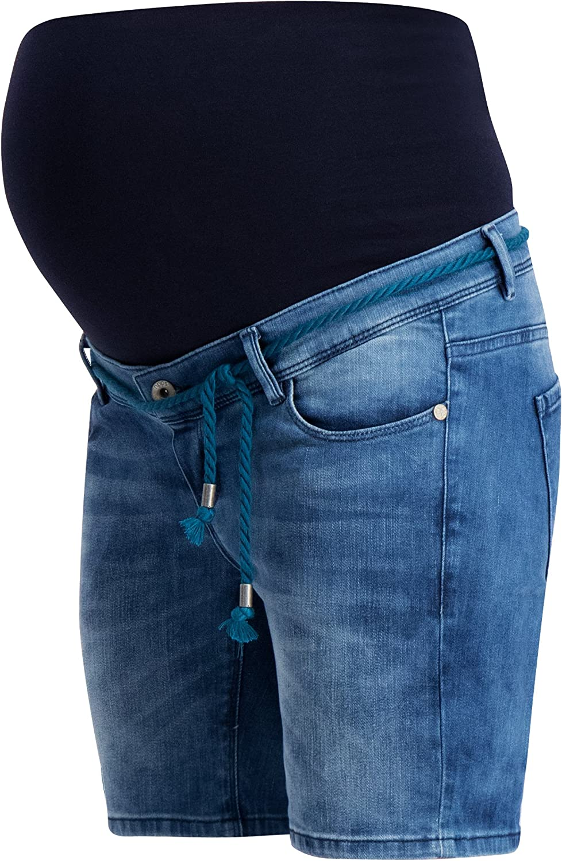 Noppies Umstandsmode Damen Umstandsshorts Jeans Mila