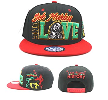 Bob Marley New Leader 1 One Love Rasta - Gorra, diseño de león ...
