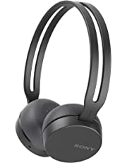 Sony WH-CH400B Cuffie Wireless, Nero