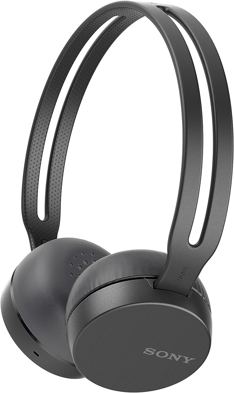 Sony WH-CH400 Wireless Headphones, Black WHCH400 B