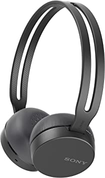 Amazon Com Sony Wh Ch400 Wireless Headset Headphones With Mic For Phone Call Black Electronics