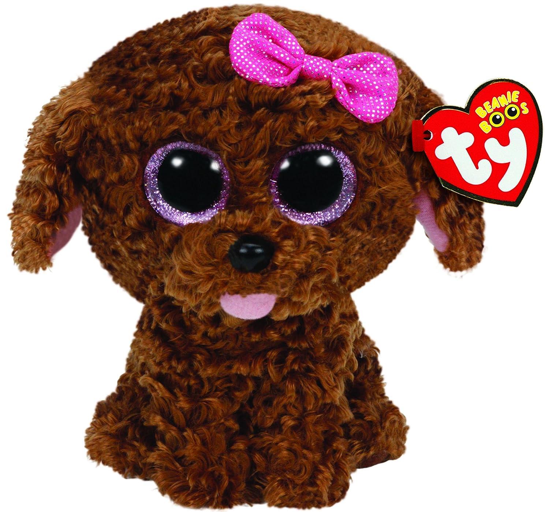 Ty - Ty36618 - Felpa - Clip de Beanie Boo - Maddie el Perro: Amazon.es: Juguetes y juegos