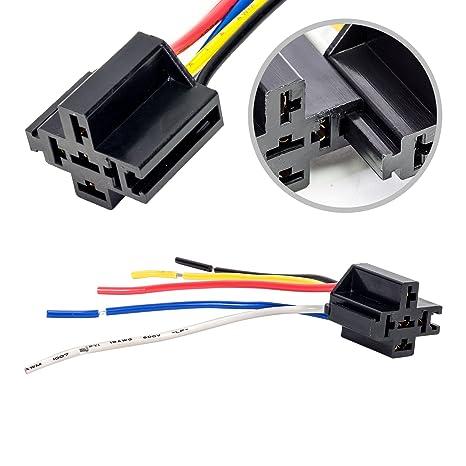 ONLINE LED STORE Bosch Style 12V DC 5-PIN SPDT Interlocking Automotive on