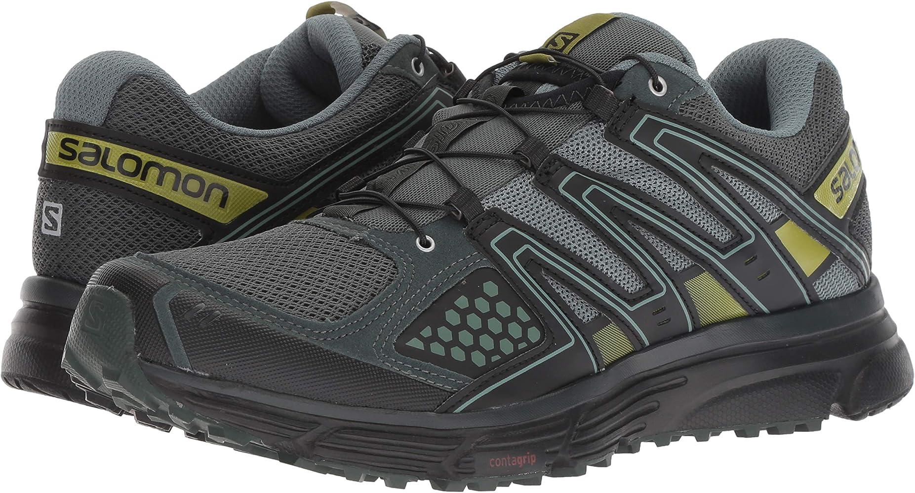 Salomon Homme Chaussures de Trail Running, X MISSION 3, Gris