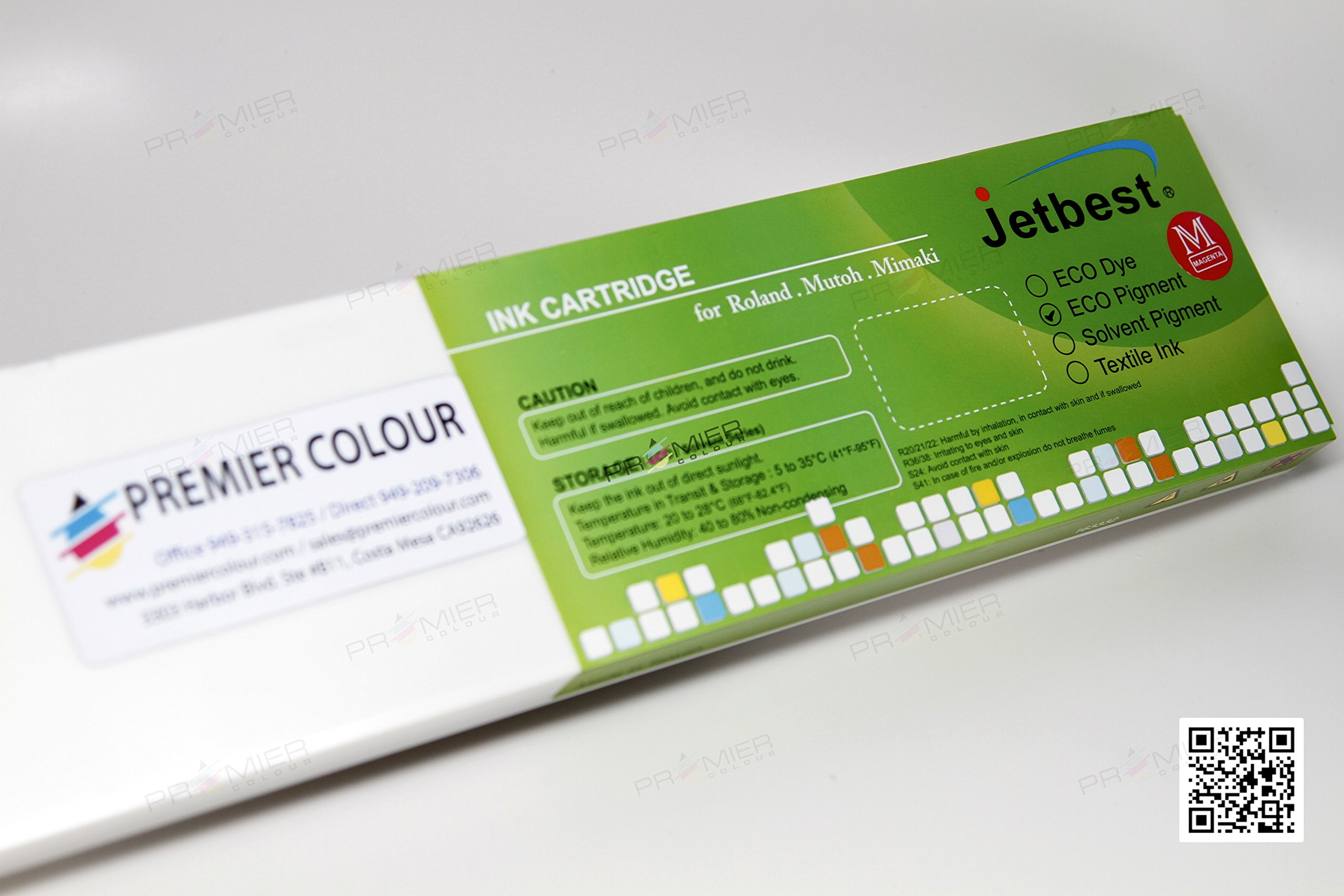 JETBEST MAX, 440mL Eco Solvent Ink Cartridge, for Roland ECO SOL MAX (6 Color) (Magenta)