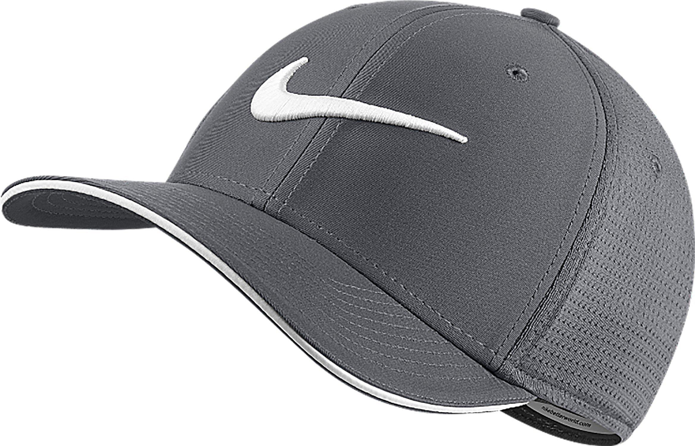 NIKE Unisex Classic 99 Mesh Golf Cap, Dark Grey/Dark Grey/Anthracite/White, Medium/Large