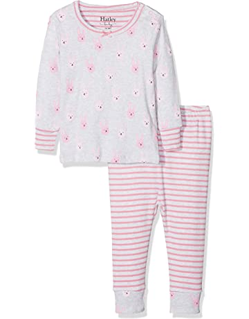 4b45dbc0b7 Hatley Baby Girls  Mini Organic Cotton Long Sleeve Pyjama Sets